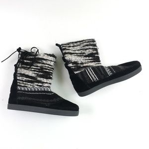 Toms Black Suede Nepal Boot H6614872